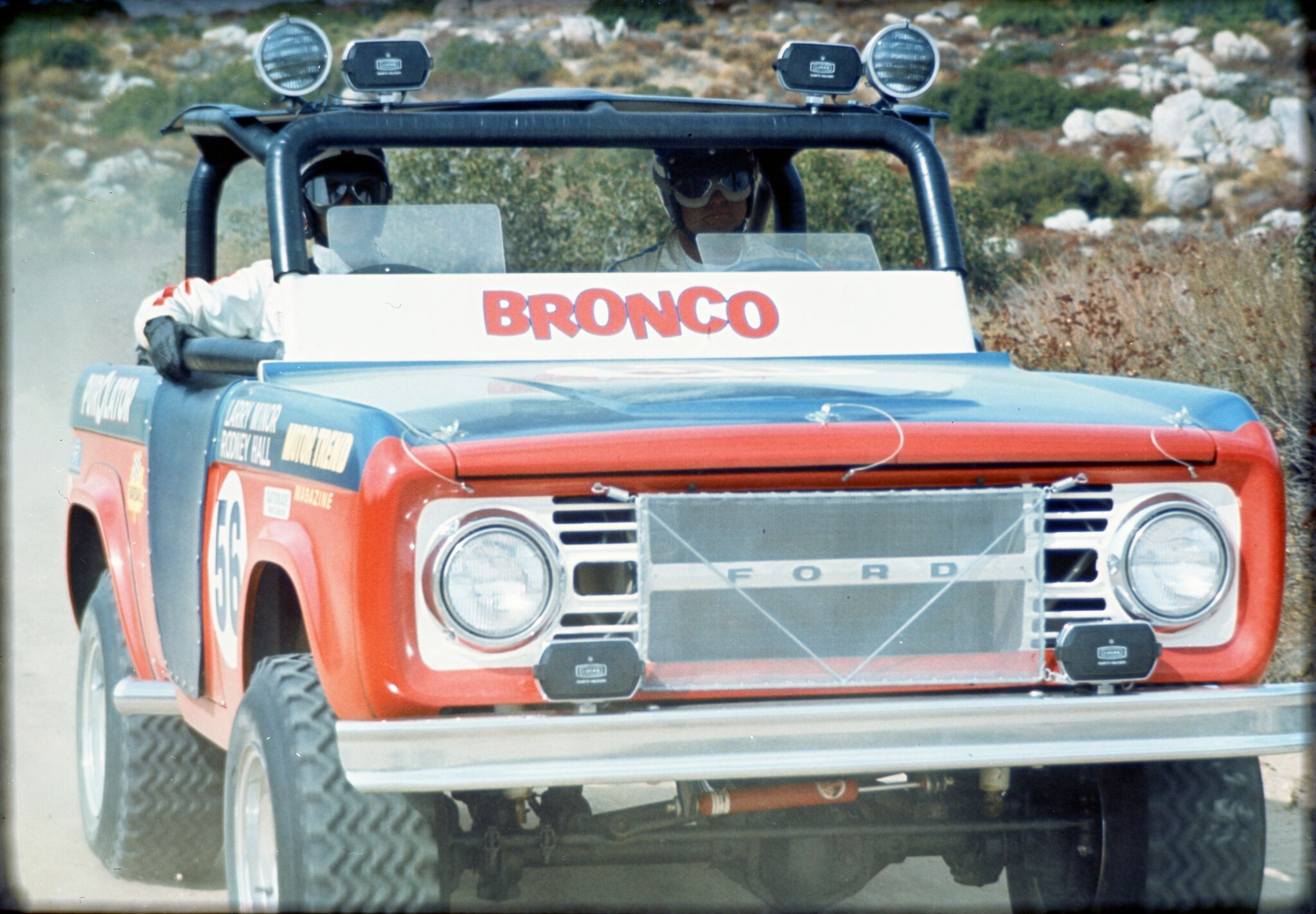 FALLING FOR BRONCO