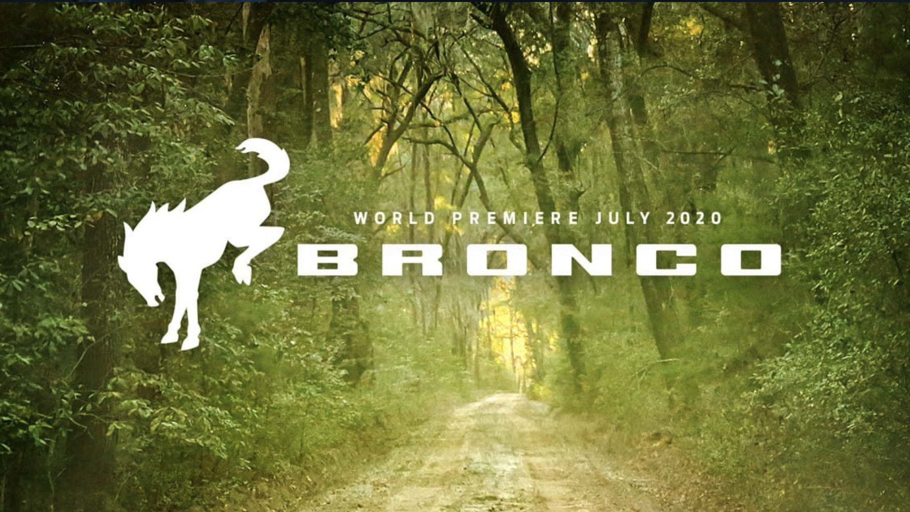 BRONCO BRAND REVEAL – JULY 2020