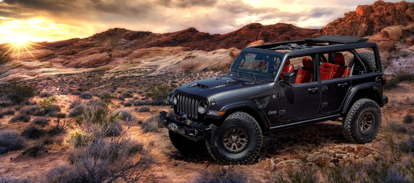 JEEP WRANGLER V8 – CONCEPT OR PRODUCTION?