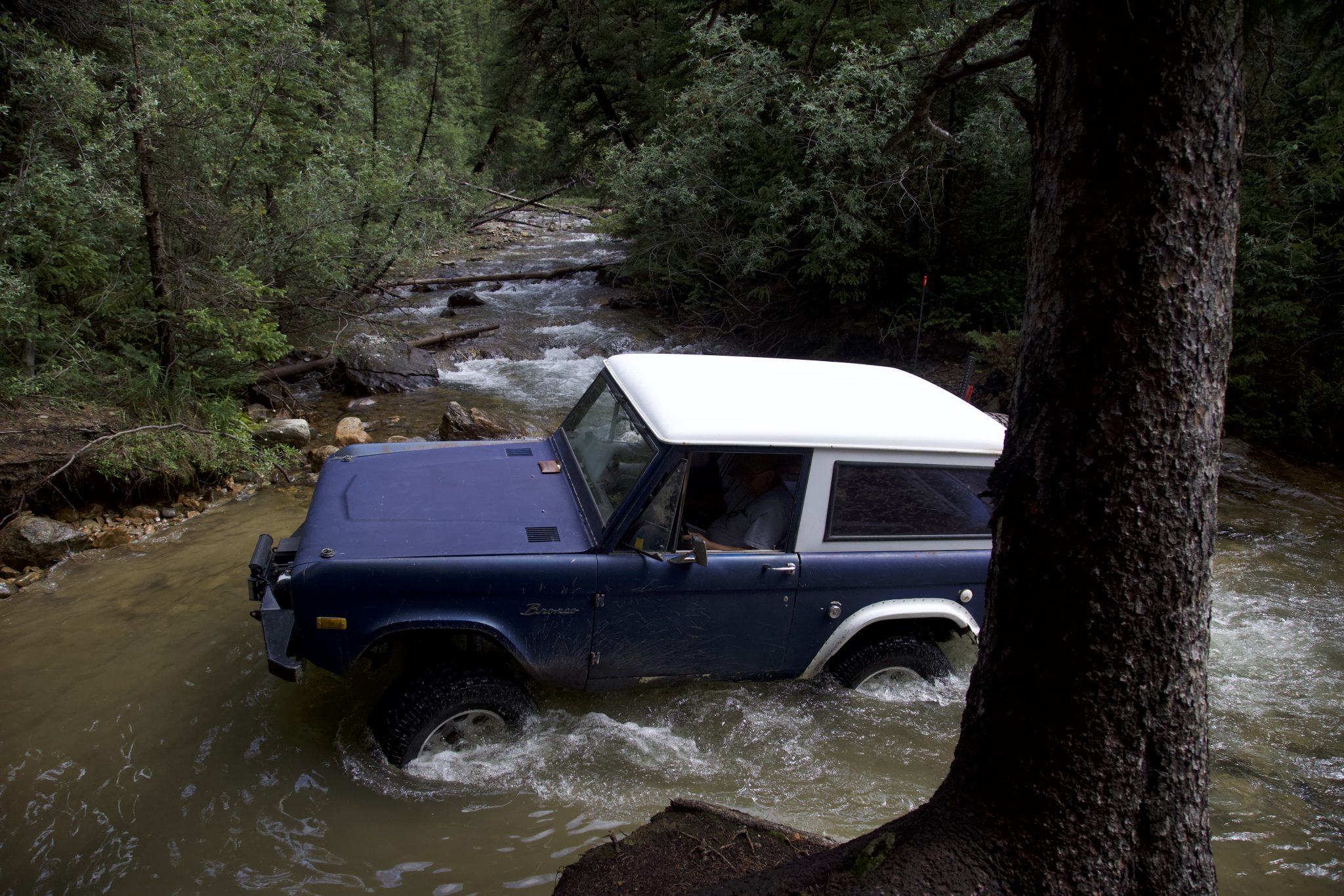Bronco Water Fording