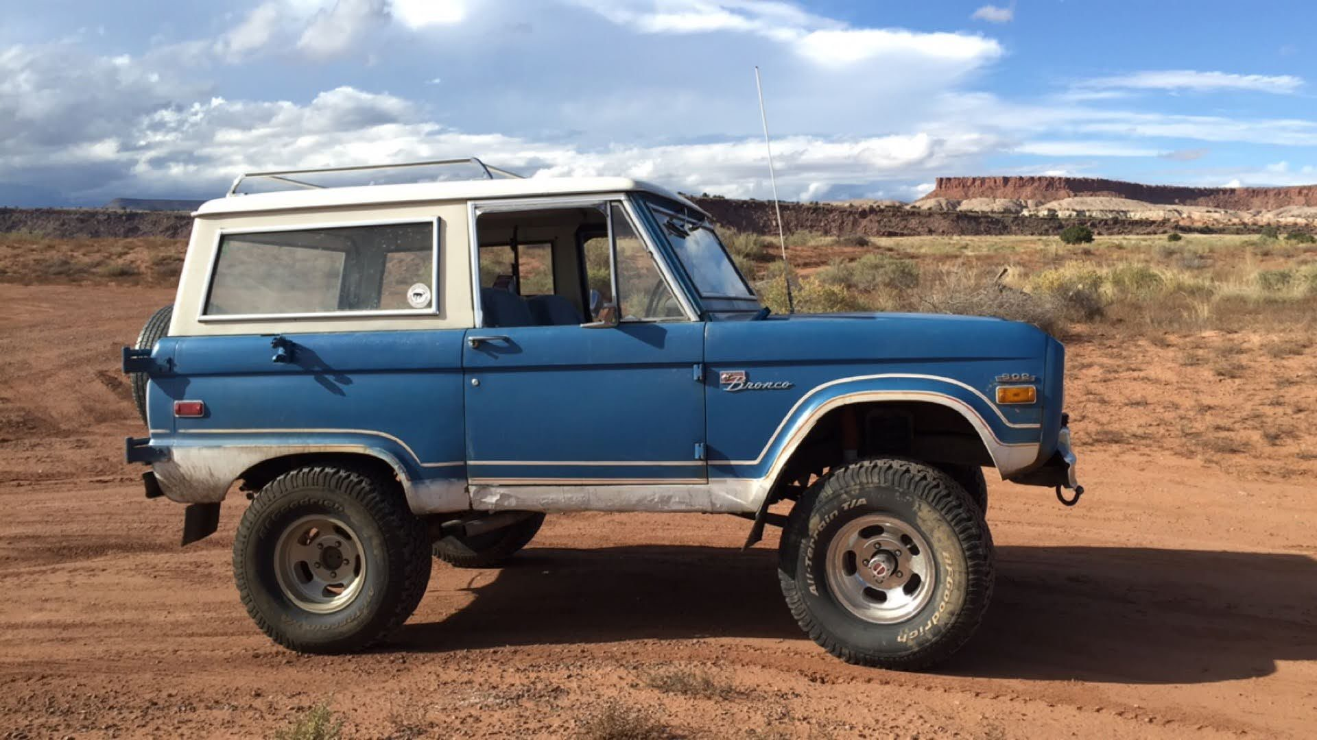 IF IT AIN'T BROKE, DON'T FIX IT – 1971 ORIGINAL BRONCO