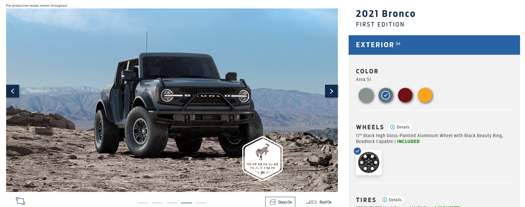 Update: 2021 Ford Bronco Build and Price Update
