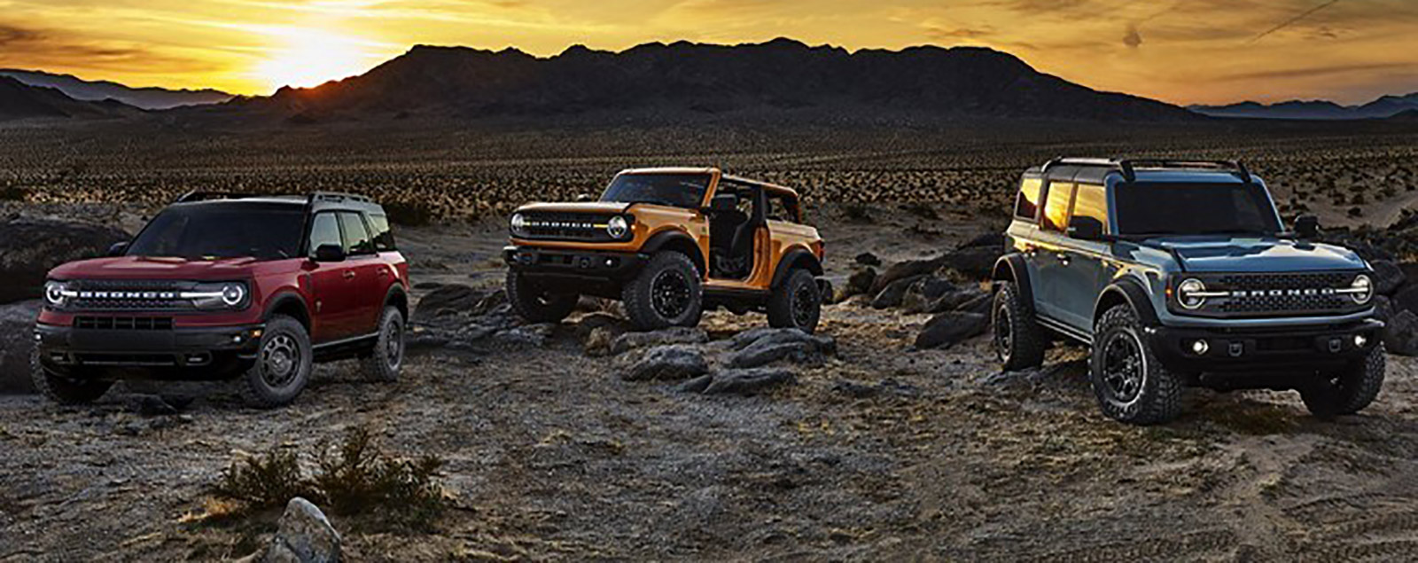 2021 Bronco Sport Trim Profiles: Badlands & First Edition