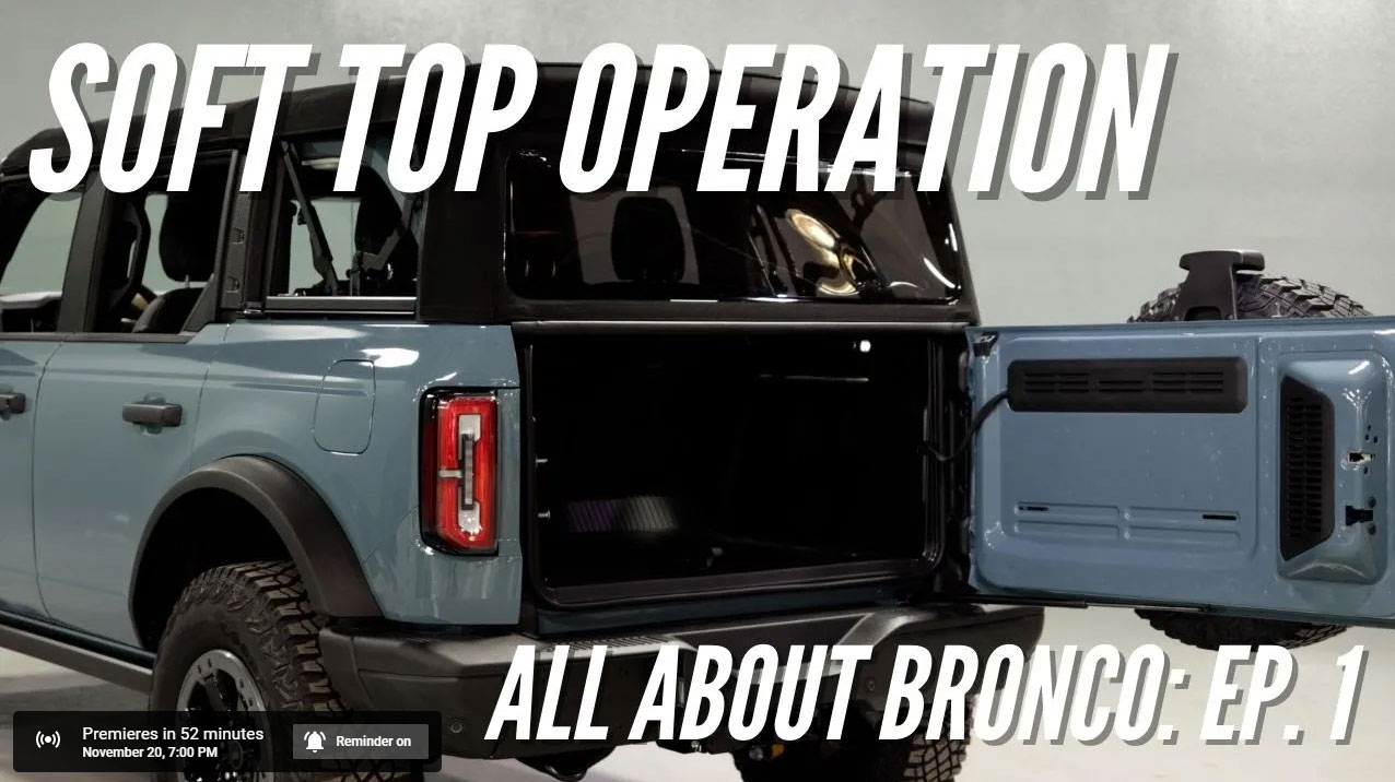 The First Nashville Early Bronco/ Bronco Nation How-To Video