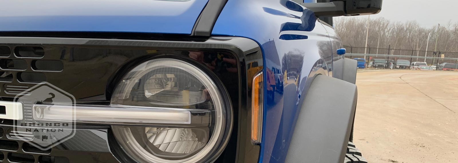 First Look at Lightning Blue Bronco