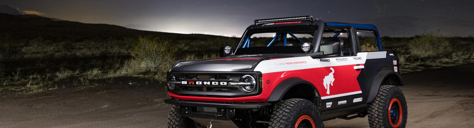 The 2021 Bronco & the ULTRA4 4600 Stock Class