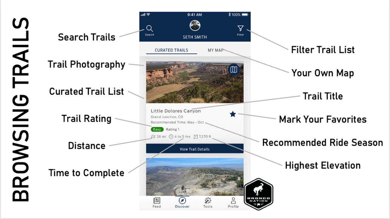 Browsing Trails guide