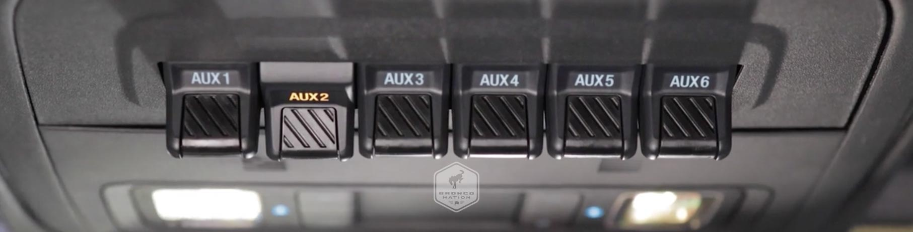 How to Use the Auxiliary Switches on your Bronco