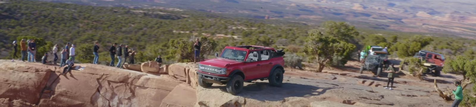2021 Ford Bronco Conquers Moab Top Of The World Trail