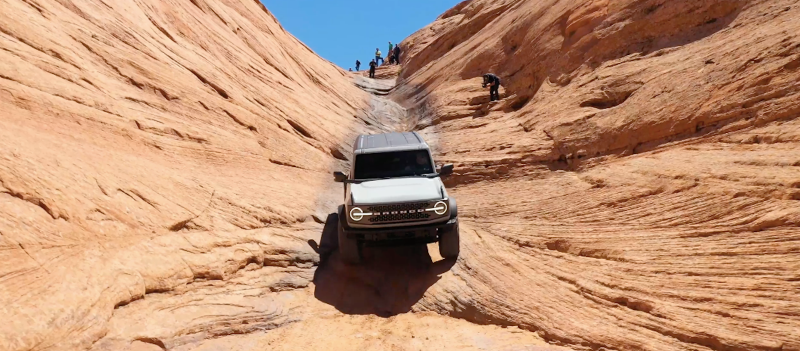 WATCH THE 2021 BRONCO CLIMB HELL'S GATE IN REVERSE