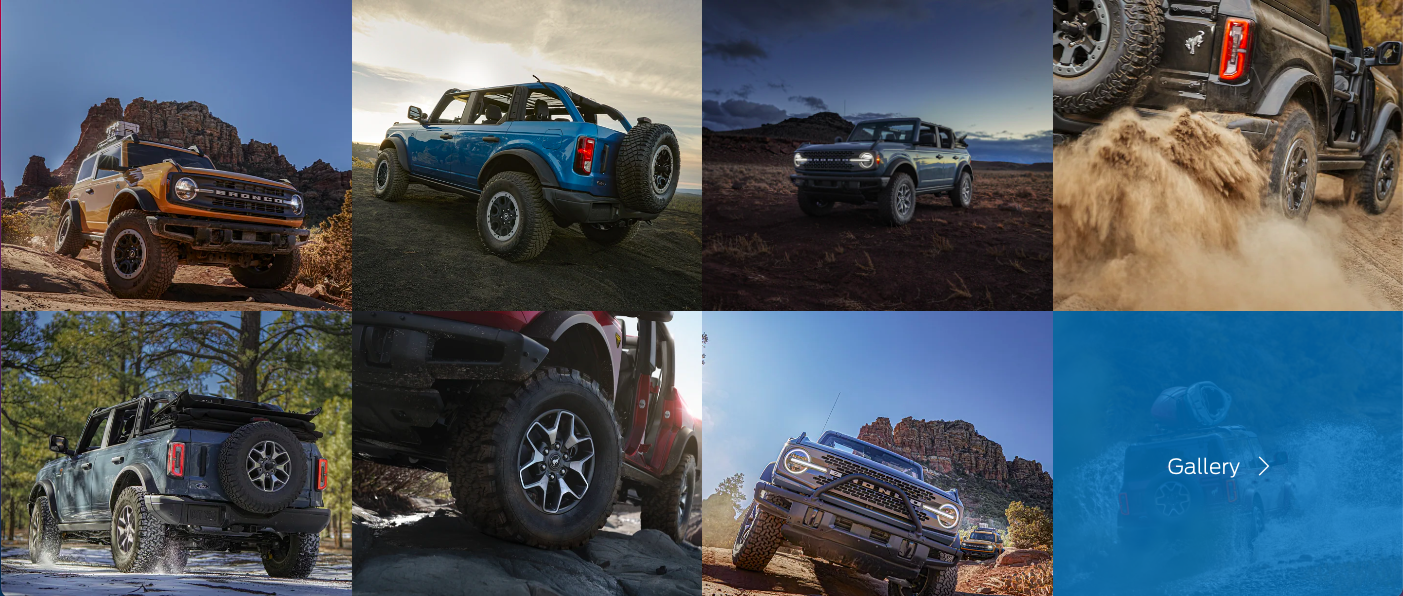 Ford Updates Website for the 2021 Bronco