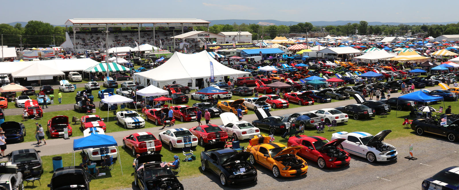 Record-Breaking Fun at the Carlisle Ford Nationals