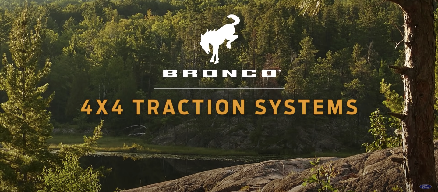 2021 Ford Bronco 4×4 Traction Systems   How-To