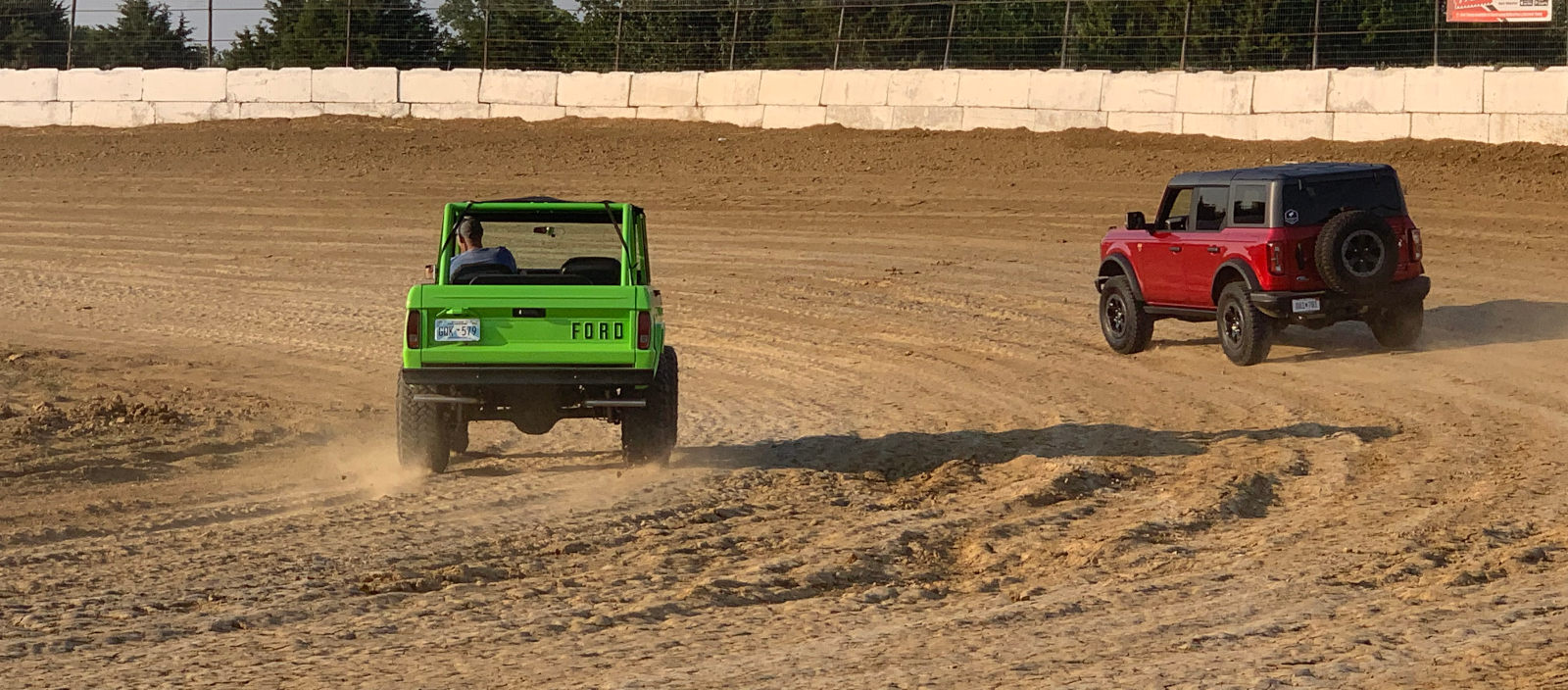 2.7L EcoBoost Bronco Takes on 5.0L Boss 302 Tribute Early Bronco
