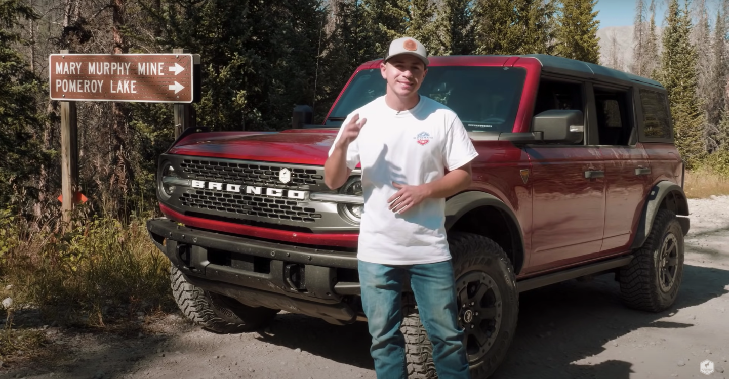 Will It Make It? Pomeroy Lake Trail in a 2021 Ford Bronco Video