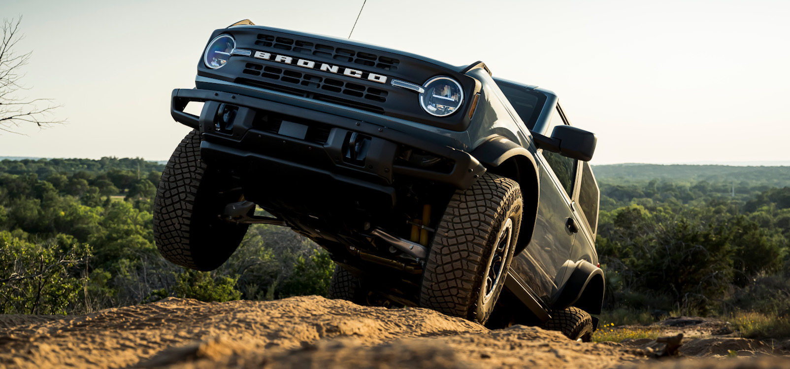 An Ode to the Bronco Independent Front Suspension