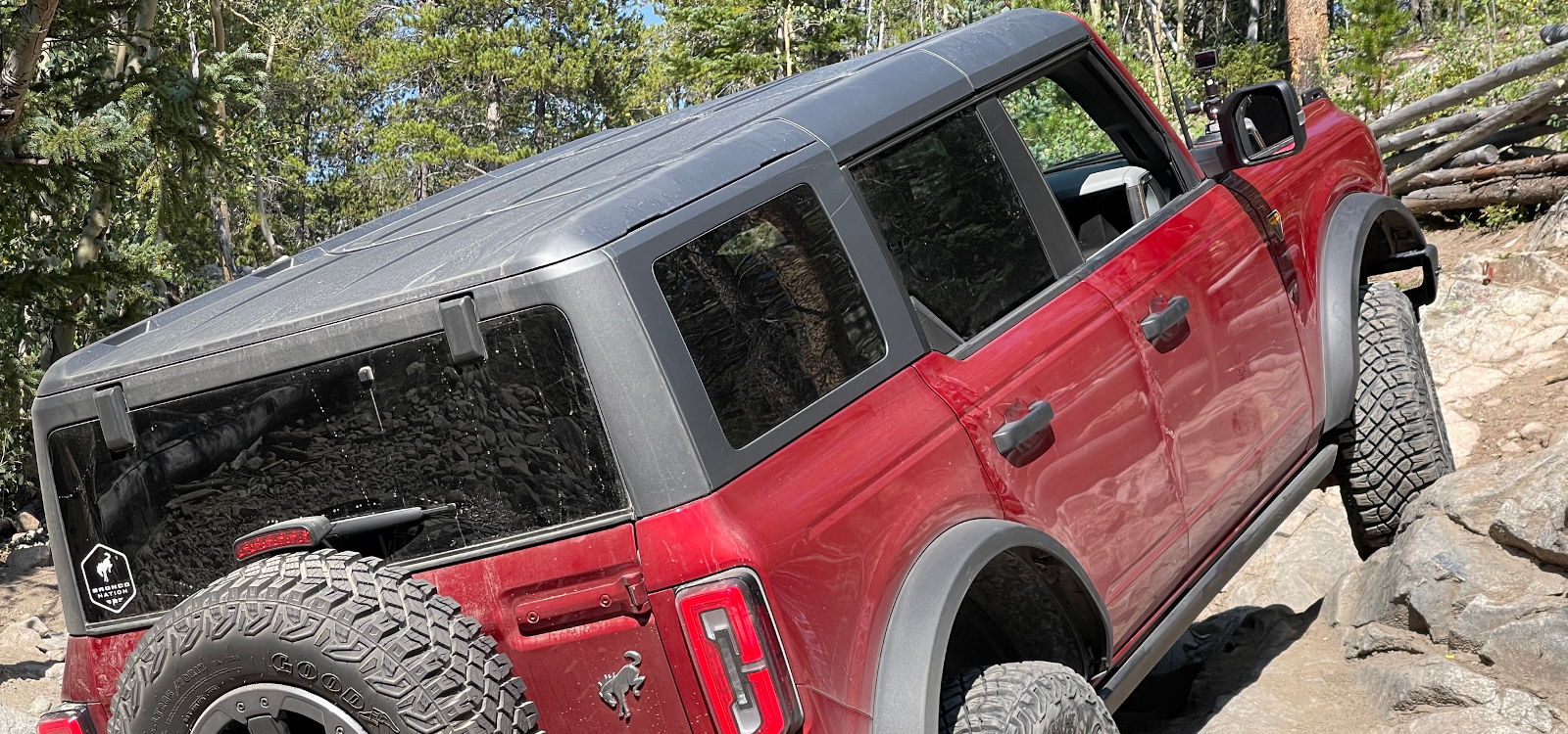 Tackling the Trail to Grizzly Lake in a 2021 Bronco